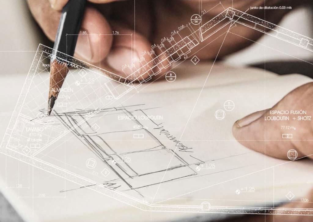 Grundriss Zeichnen Interior-Design